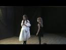 Отрывок из спектакля Алиса в стране чудес Белая королева и Алиса