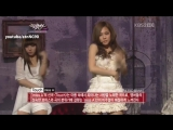 miss A - Over U + Touch 120224 Music Bank Comeback Stage HD