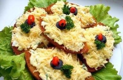 Горячие бутерброды: ТОП-10 1. Горячие бутерброды со шпротами
