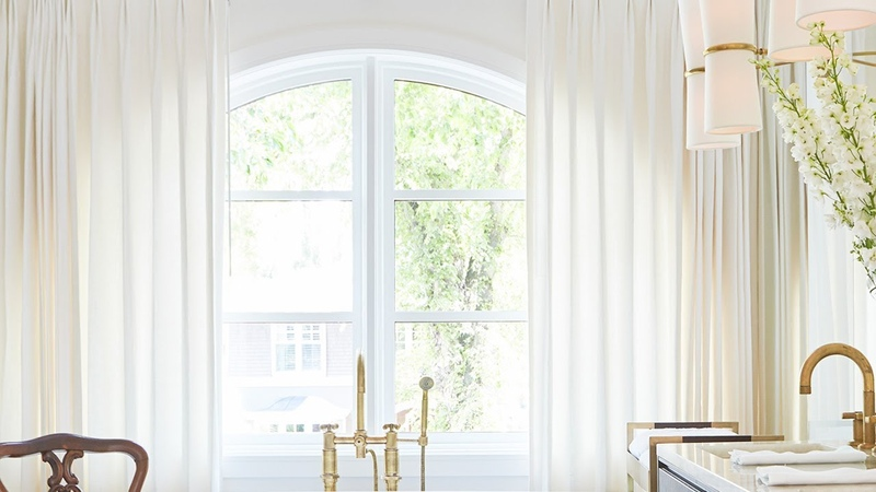 Designer Tips For Arched Window Treatments House Home