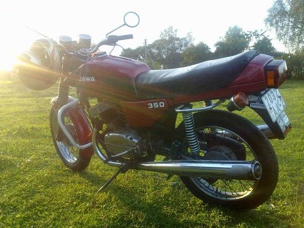 Рассказ пользователя andruha-141 о своем мотоцикле ява 350 из Витебска и фото под катом