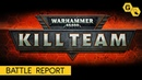 Kill Team Battle report Механикус против Космодесанта