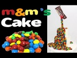 M&ampM's Rainbow Cake! How to make a Gravity Defying M&ampM Candy Cake with Cupcake Addiction