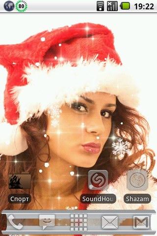Sexy Christmas Donation - Живые обои для Андроид