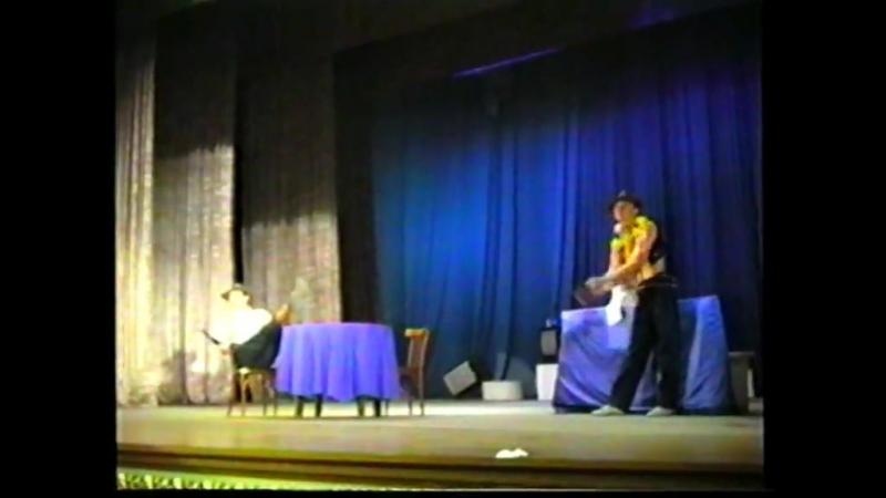 15 дней до 35-летия театра ЭхО Раз ковбой, два ковбой (2016)