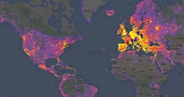 Интересные и занимательные карты мира