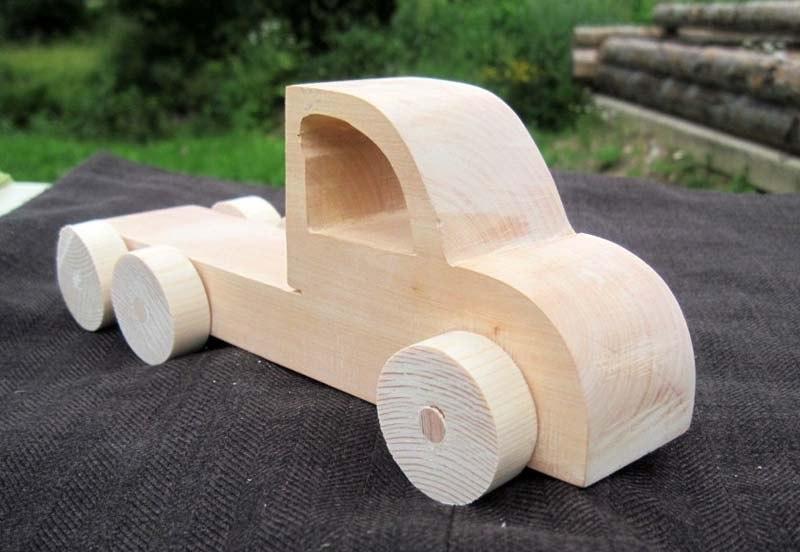 Как сделать деревянную машину своими руками большую 44