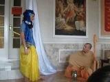 спектакль в храме Харе Кришна.Днепропетровск