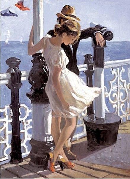 Свежесть и легкость в картинах импрессиониста Sherree Valentine Daines