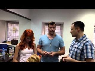 Ирина Агрба и Юрий Жданов в Школе Павла Баженова