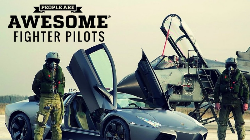 People Are Awesome - Fighter Pilots