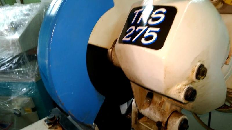 Пила для резки армирующего металлического профиля МАСС TRS 275, 2014 г. - 70 000 руб.