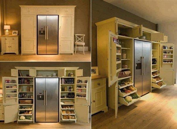 Вместительный шкаф для продуктов (1 фото)