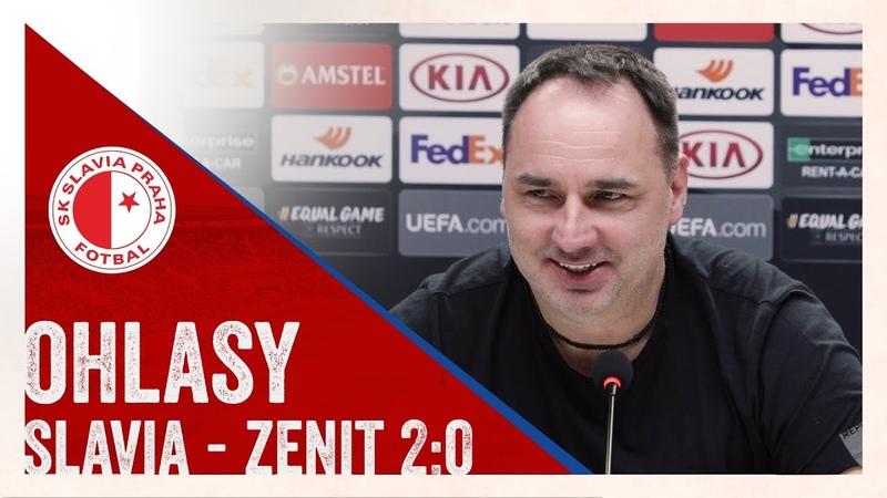 TRENÉR | Hodnocení po zápase se Zenitem (2:0)