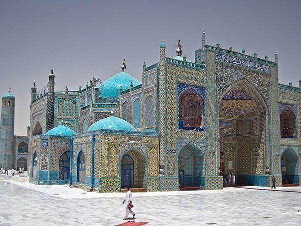 Голубая мечеть, Афганистан