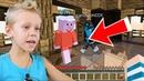 Свинка Пеппа играет в Minecraft Бед Варс Майнкрафт Про или Нубик