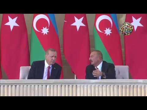 Erdoğan orada! Bakünün kurtuluşunun 100 yıl dönümü töreni! GURUR VERİCİ!