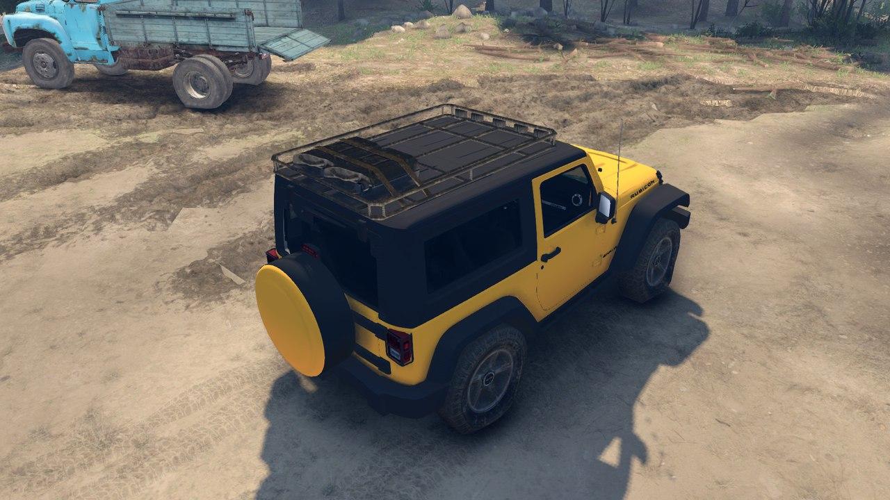 Jeep Rubicon для версии игры от 13.04.15 для Spintires - Скриншот 3