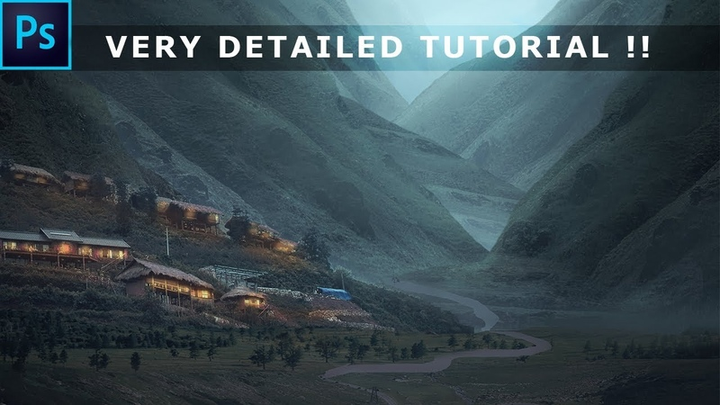 Matte Painting Tutorial (VERY DETAILED) !