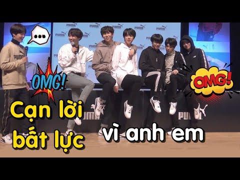 [BTS funny moments 28] CẠN LỜI, BẤT LỰC vì anh em = (Phần 1)