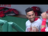 This day two years ago, BillyHamilton turned on the jets at Wrigley.