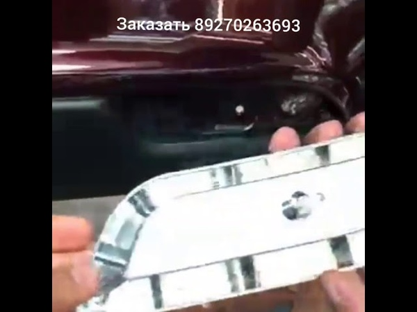 Насадки а-ля LEXUS вместо катафотов бампера без резки бампера и прочих заморочек :