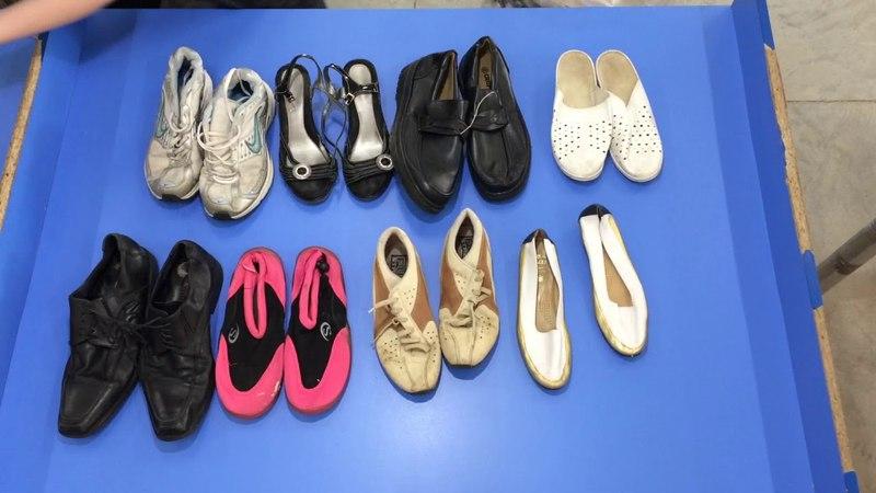 C184. Обувь Mix SH м/ж/д лето. Упаковка 23,6 кг. Цена 640 руб/кг. Цена упаковки 15104 руб. Анна 8-912-667-07-72