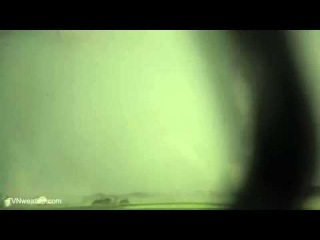 Jaw-dropping tornado suction vortices in South Dakota, BRIGHT WHITE! June 18, 2014