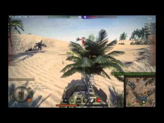 World Of Tanks Super Pershing лучший танк для фана
