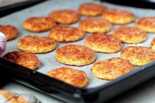 «Печенье с беконом и сыром»