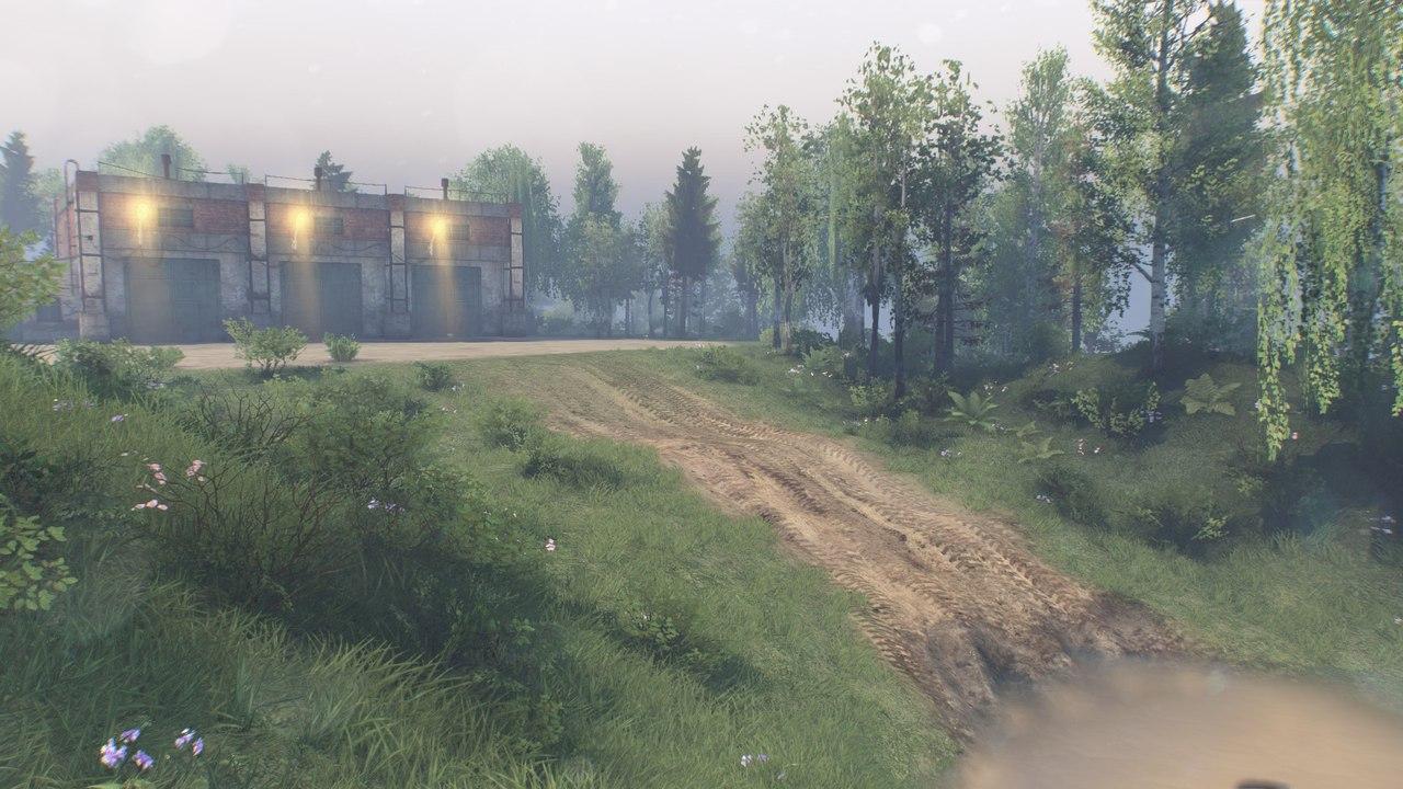 """Карта """" На холм """" для 25.12.15 для Spintires - Скриншот 3"""