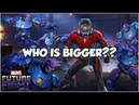 Cable Gambit Smash Giant Boss Ant Man Does His Best Impression Marvel Future Fight
