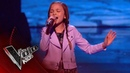 Mandy Performs 'The Climb' The Semi Final The Voice Kids UK 2018