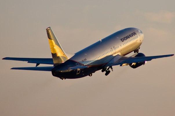 Авиакомпания «Донавиа» увеличила пассажиропоток на 37% за год