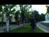 Быдло_нападает_на_велосипедистов_и_отгребает_драка_на_улице_защита_BMX