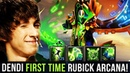 DENDI Rubick Legend First Time Trying New Rubick Arcana - 1.000$ EXPENSIVE Set - 7.20e Patch Dota 2