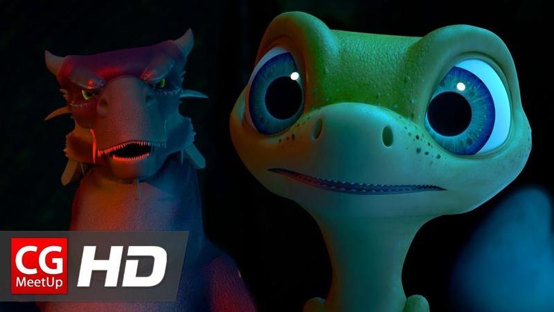 CGI Animated Short Film Lizard Quest by Micah, Jessica, Nicole   CGMeetup