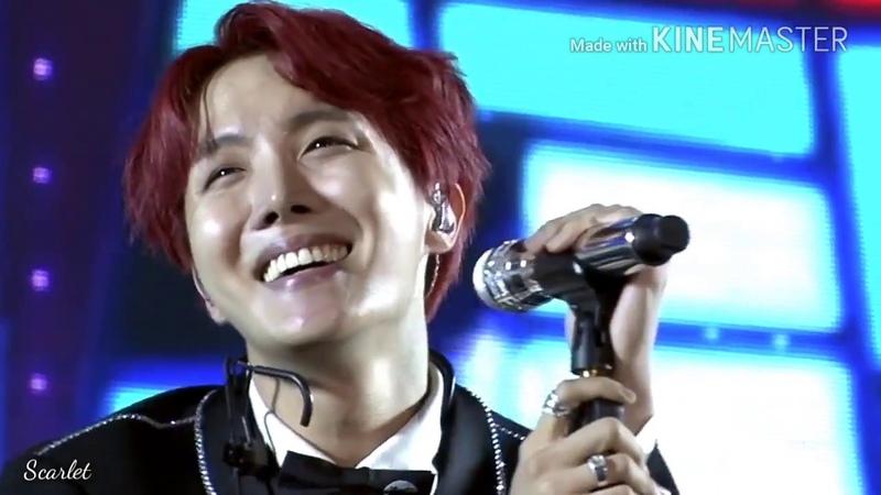 [BTS Memories Of 2017]Live Jhope-MAMA(방탄소년단)