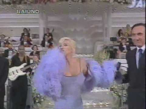 Madonna Interview Speech @ Sanremo Festival 1995 with Babyface and Pippo Baudo