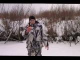 Ловля щуки на жерлицы зимой 11 января 2014г.