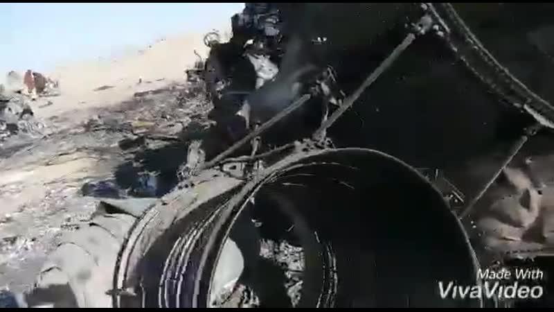 В Афганистане упал американский транспортный вертолет CH-47 Chinook