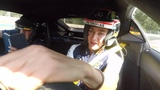 A Pirelli Hot Lap With A Difference George Russell and Will Buxton