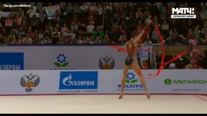 Юлия Бравикова лента (Квалификация) гран при Москва 2018