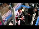 Matt Carkner jumps Brian Boyle fight. Ottawa Senators vs NY Rangers. 4/14/12 NHL Hockey