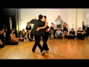Bruno Tombari Mariangeles Caamano 100% tango festival Ljubljana 25 03 2011 milonga
