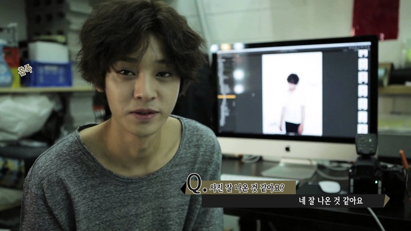 정준영 (Jung Joon Young) - 틴에이저 자켓촬영 현장(TEENAGER Jaket Photoshoot Making Flim)