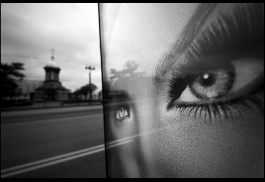 Making eyes on Saint-Petersburg