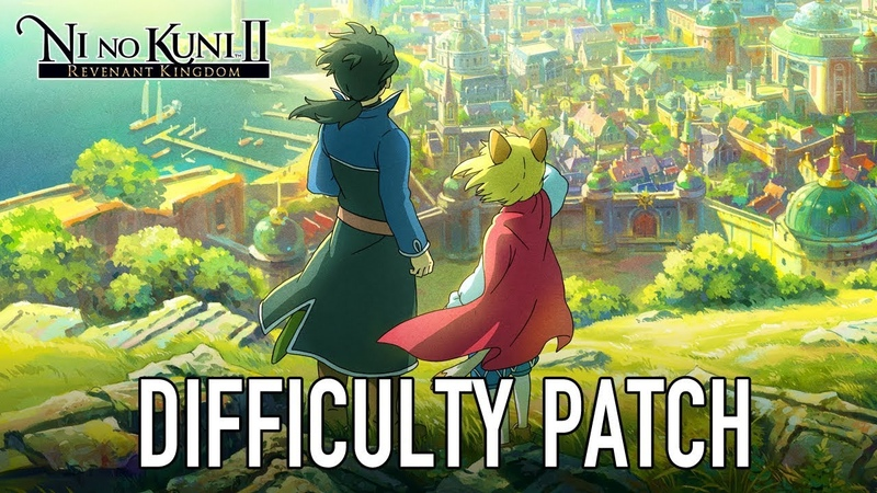 Ni no Kuni II Revenant Kingdom - PS4PC - Difficulty Patch