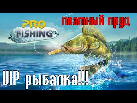 PRO FISHING - VIP РЫБАЛКА НА ПЛАТНИКЕ!
