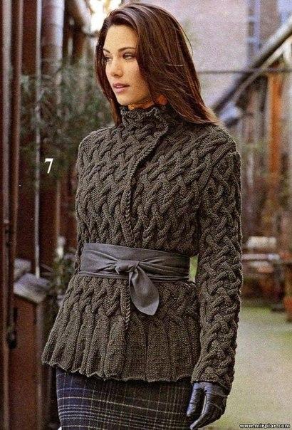 Knitted Jackets Patterns : ?????,??????? ???????-????? ???????. ?????????? ?? LiveInternet - ?????????? ...